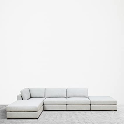 Lovely UrbanFurnishing.net REED 5 Piece Modular Customizable And Reconfigurable Deep  Seating Sofa Sectional