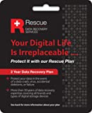 Seagate STZZ758 Rescue Data Recovery Service Plan for External HDD and SSD