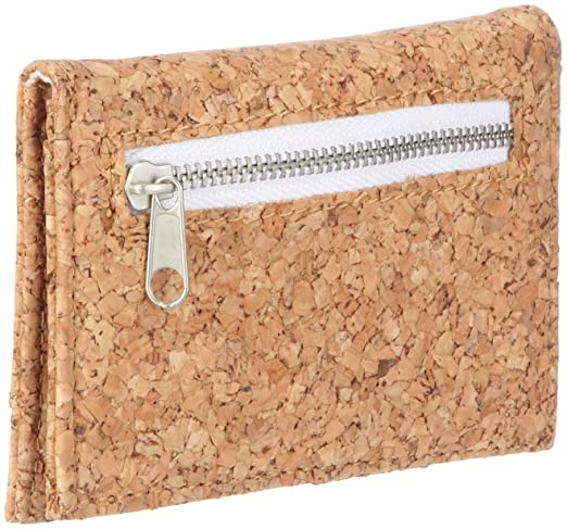 TEST Vans The Authentic Bi-Fold Wallet, One Size, Cork at ...