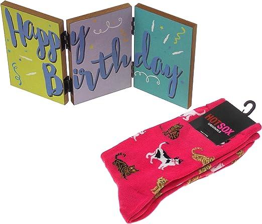 HotSox Women/'s Happy Birthday Socks