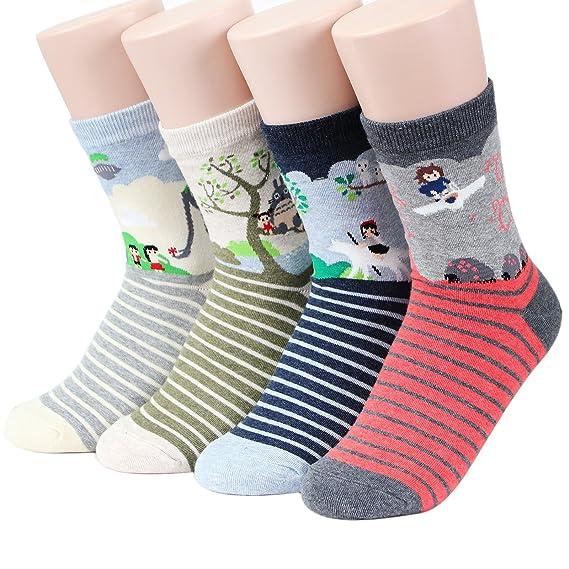 Richaa 5 pares de calcetines unisex divertidos famosos calcetines de obra maestra calcetines casuales de algod/ón para hombre y mujer estampados de alta calidad