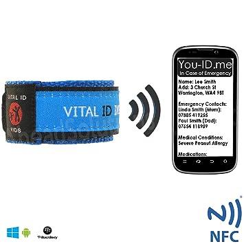 Genoeg Smartphone-kompatibel Kinder Identität Notfall-Armband. Kind #LX58