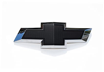 Amazon Front Grill Bowtie Bow Tie Black Textured Emblem Fits