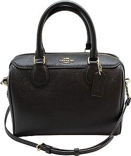 6b801486c9d6 New Coach Signature Mini Bennet Satchel (Black Grey)  Handbags ...