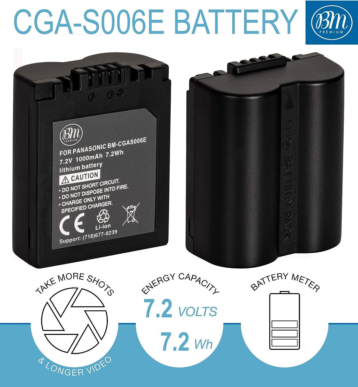 Batería Cargador CGA-S008 S008A S008E 1B DMW-BCE10 BCE10E VW-VBJ10 VBJ10EK VBJ10G