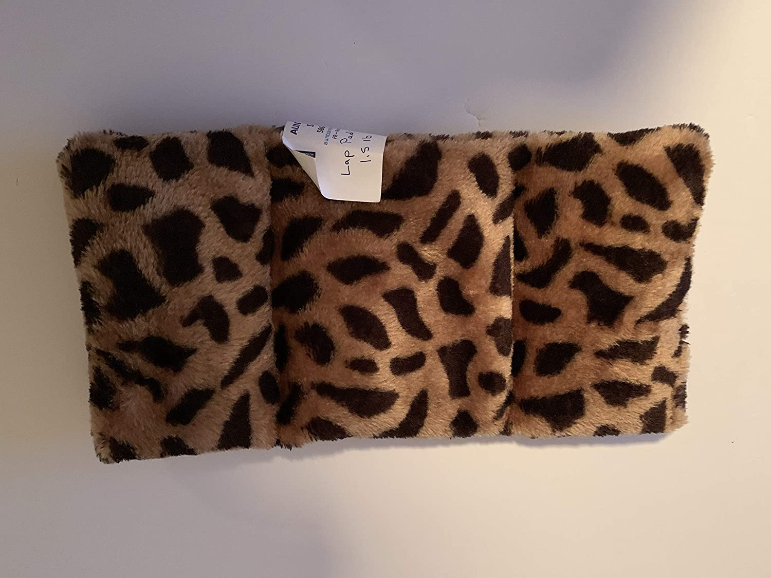 1 1//2 lbs faux fur lap pad Weighted Lap Pad washable