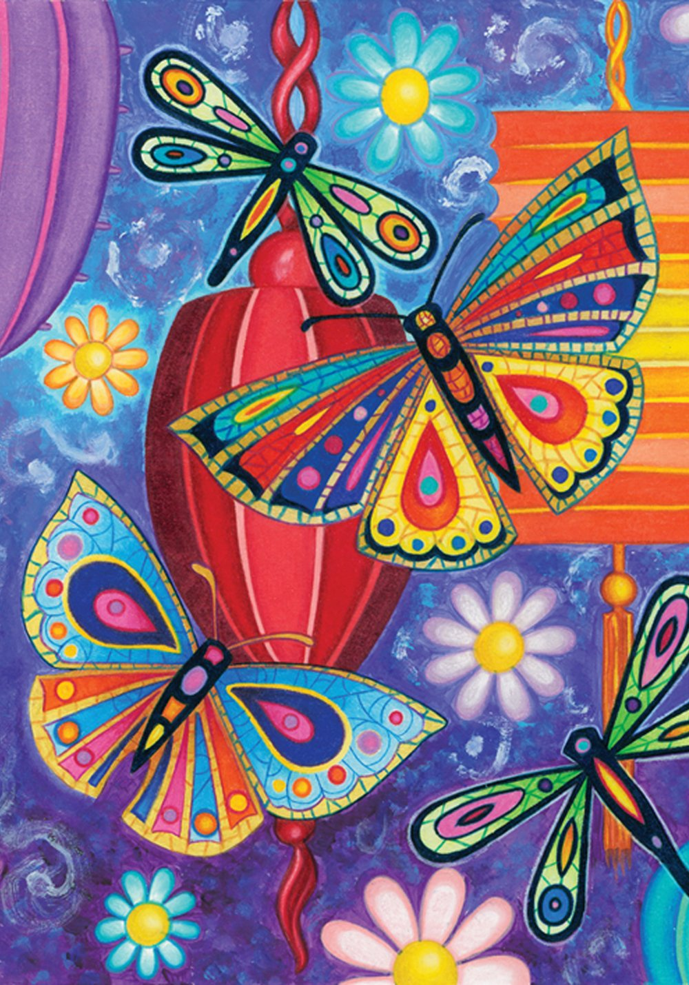 """Toland Home Garden 102570 Bright Wings 28 x 40 Inch Decorative, House Flag-28"""" x 40"""""""