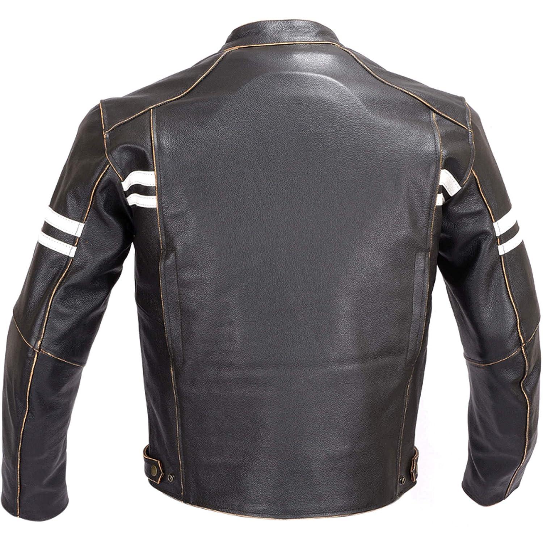 Amazon.com: Hombres motocicleta clásico mano abrillantado ...
