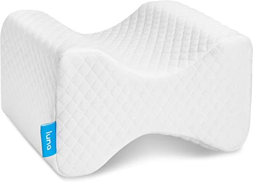 US Contour Memory Foam Leg Knee Pillow Orthopaedic Pillow Back Hips Knee Support