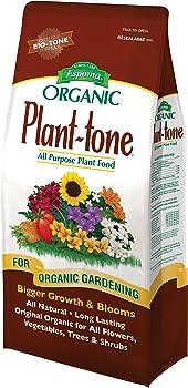 Espoma Plant Tone Original All Natural Organic Lawn Fertilizer