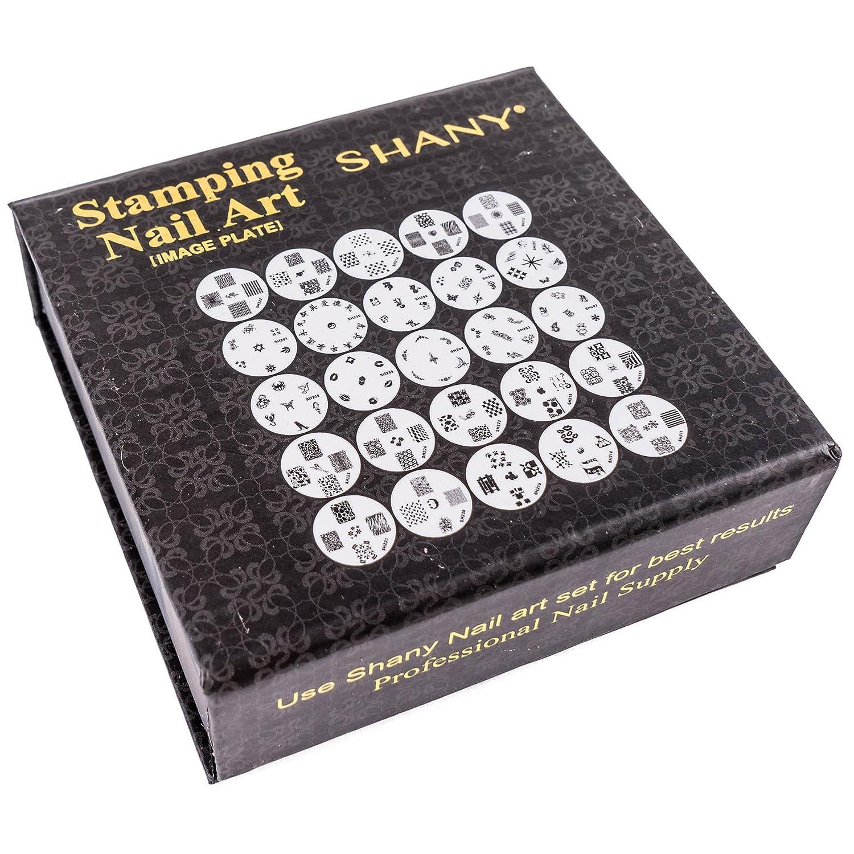 Amazon.com : SHANY Cosmetics New Image Plates Set Nail Polish Image ...