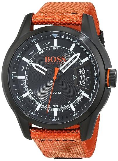 Hugo Boss Orange - Reloj de pulsera para hombre - 1550001: Amazon.es: Relojes