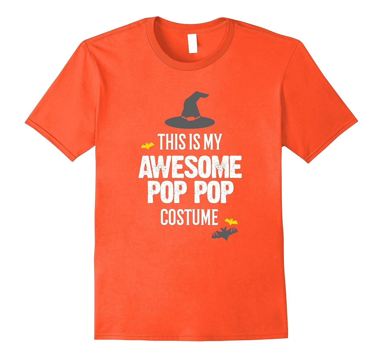 Awesome Pop Pop Halloween Costume T-Shirt-Art