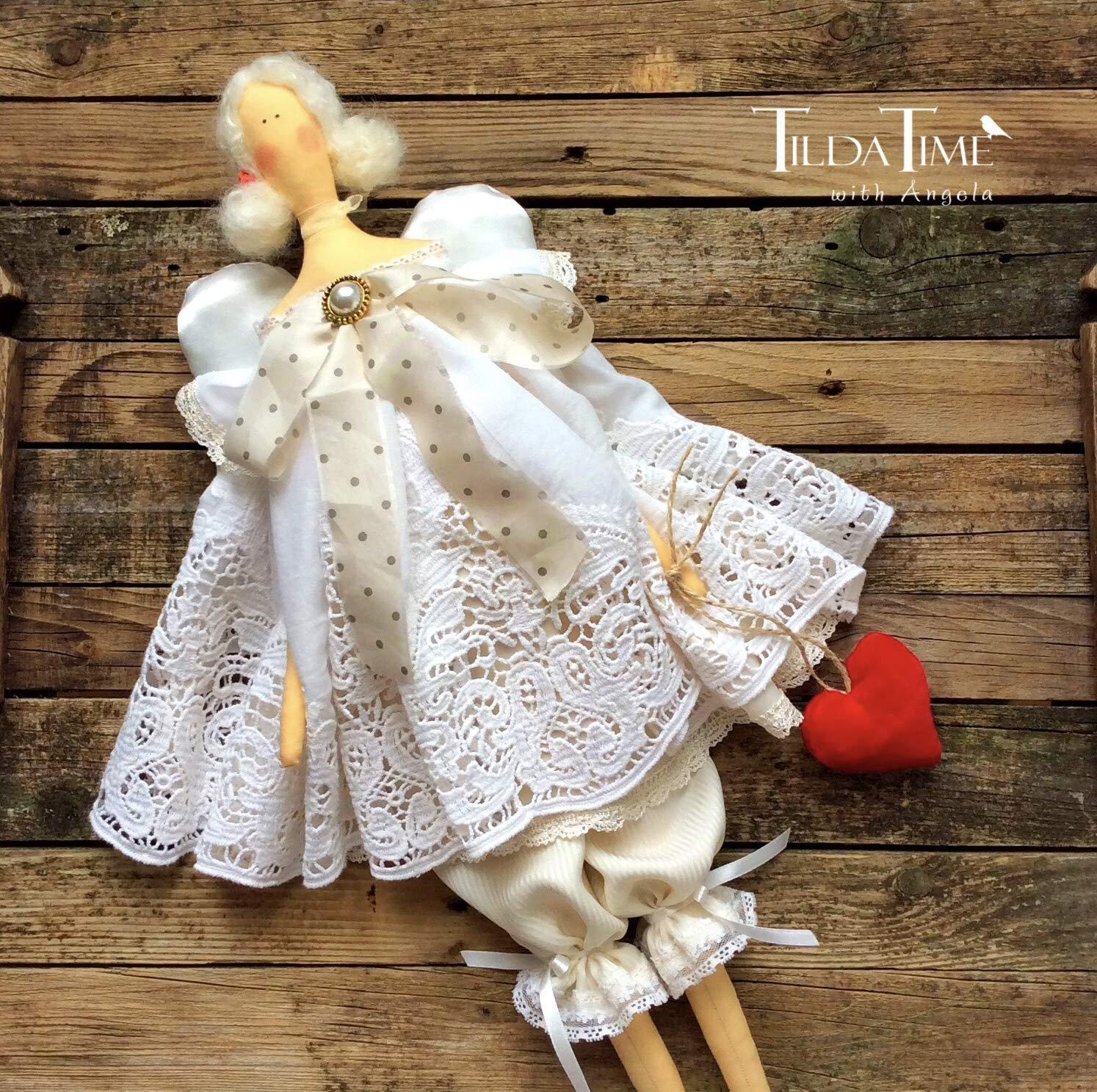 Textile doll Trinket Baby gift Baby doll Tilda Handmade cloth doll Fabric doll Rag Dolls gift ideas Tilda Doll Nursery Dolls