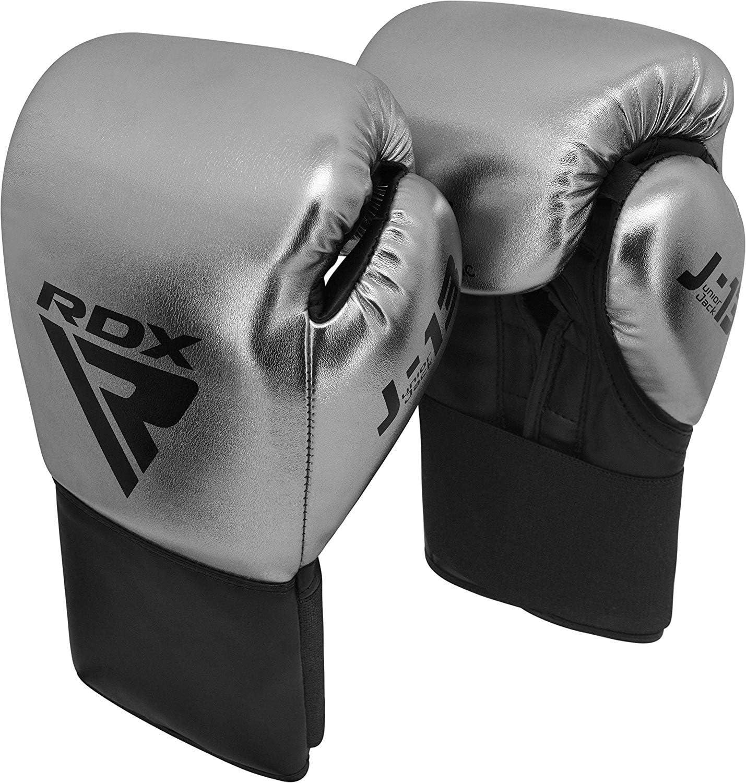 Vitesse Ball et Pattes dours Kickboxing Sacs de Frappe Kids Boxing Gloves Junior Gants en Convex et Metalic Cuir pour Sparring RDX Gants de Boxe Enfant pour Muay Tha/ï et Entra/înement