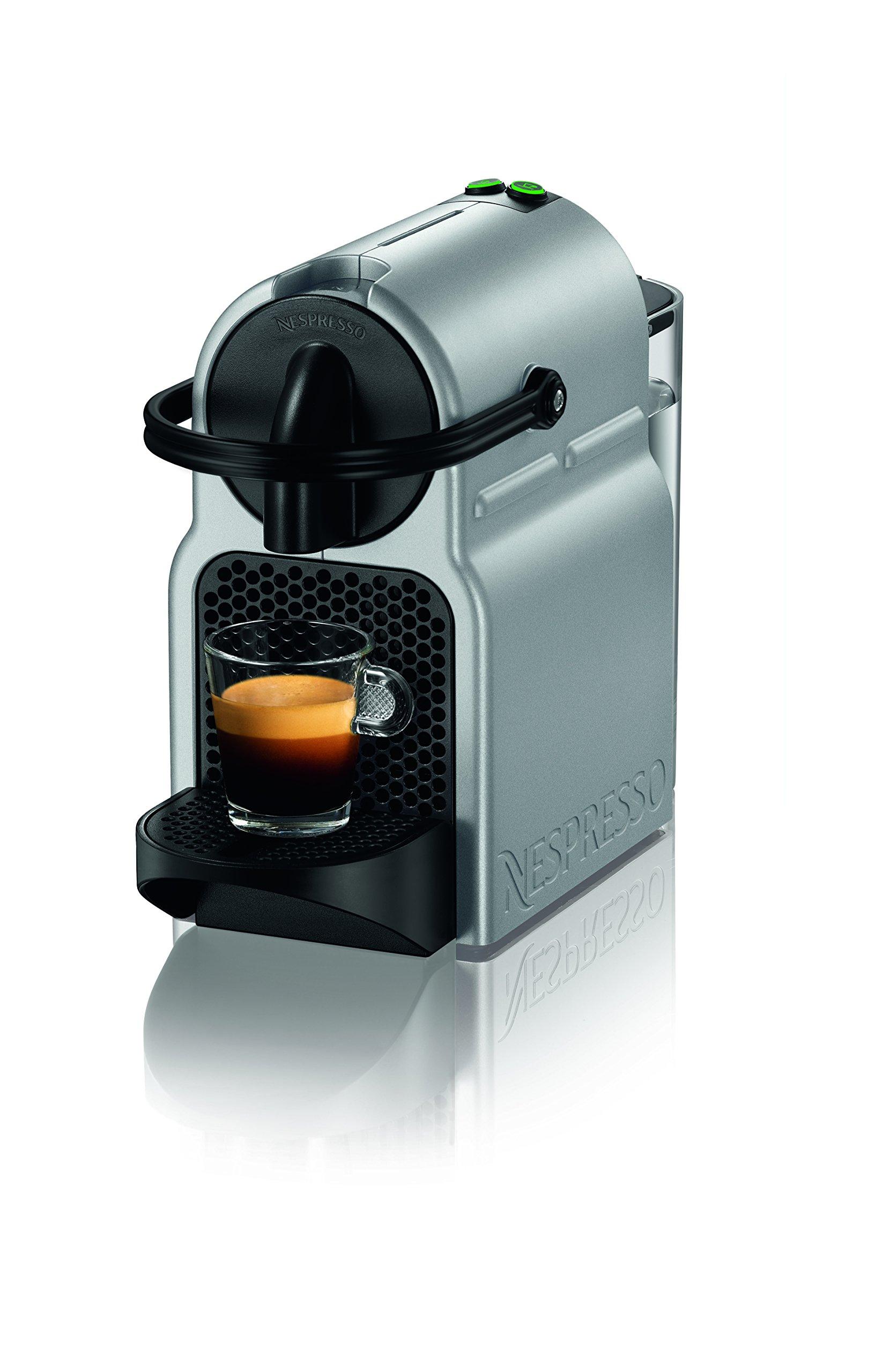 Nespresso D40-US-SI-NE Inissia Espresso Maker, Silver (Discontinued Model)