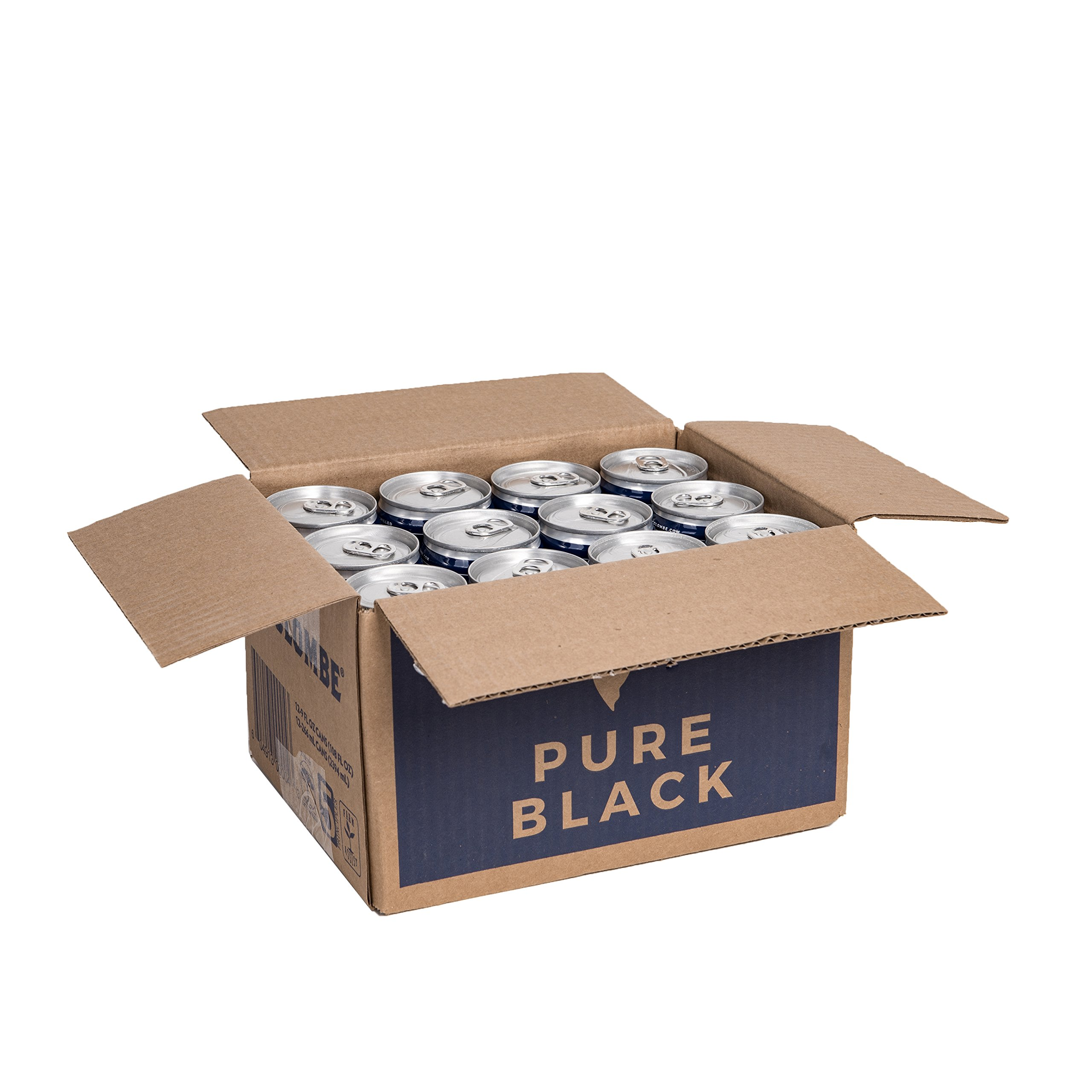 La Colombe Coffee Roasters Pure Black Cold Brew (CASE of 12)