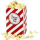 Die Original Popcornloop Popcorntüten 5 x 10er Packungen Insgesamt 50 Stück Material Aus Papier Heimkino Erlebnis
