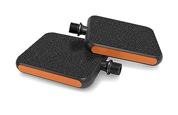 Pédale MOTO Reflex Orange Pour Vélo Urbain - La pédale ultime ville et tourisme, pour tout type de chaussures