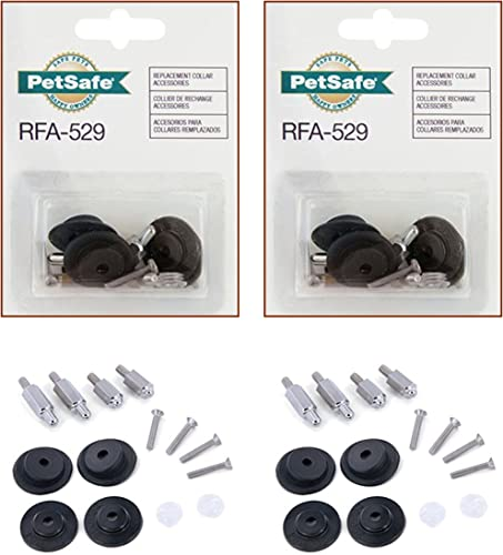 PetSafe Fencing Collars Accessory Pack RFA-529 Set of 2