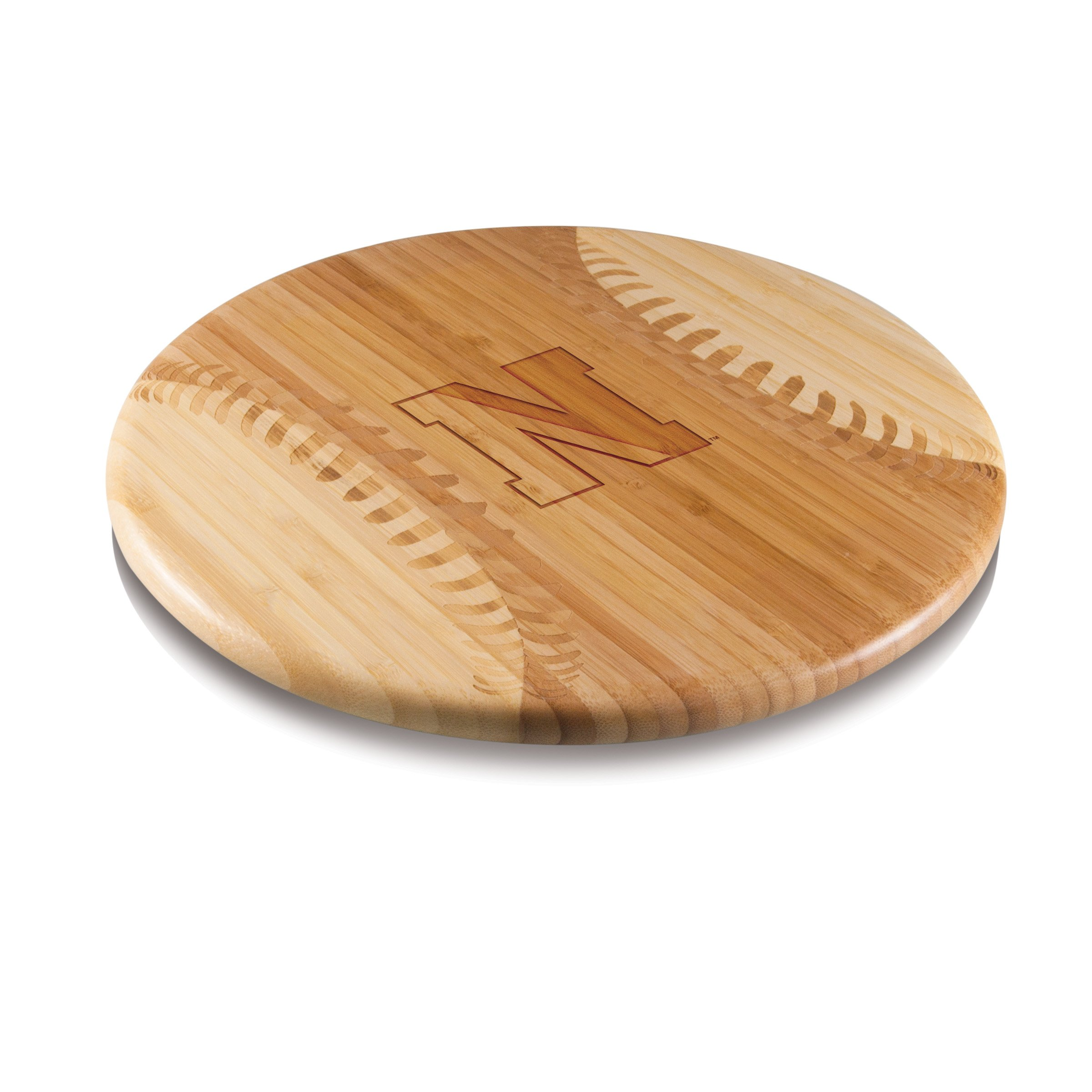 PICNIC TIME NCAA Northeastern Huskies Homerun! Bamboo Cutting Board Team Logo, 12-Inch by PICNIC TIME (Image #1)