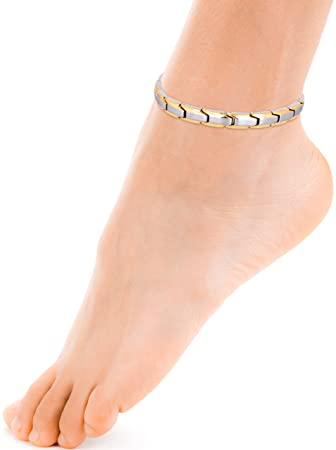for anklet out cut tone pin dhgate women rhinestone womens com anklets jewelry bracelets gold sandals ankle best under barefoot rose chain