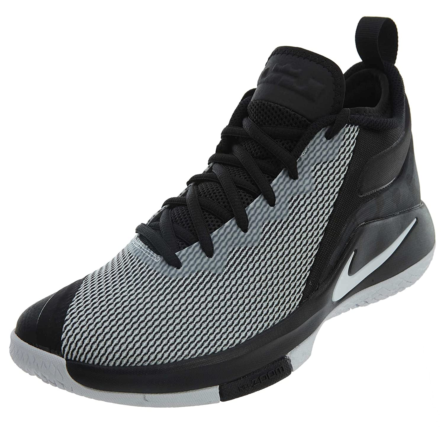 best authentic f7fbc d714f Nike Mens Lebron Witness II Basketball Shoe Black White 9.5  Buy Online at  Low Prices in India - Amazon.in