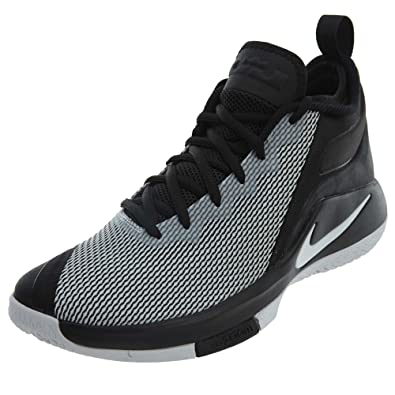 5e33bdab Nike Mens Lebron Witness II Basketball Shoe Black/White 9.5: Buy ...