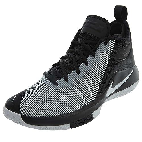 85abdbf29b4 Nike Men s Lebron Witness Ii Fitness Shoes Black  Amazon.co.uk ...