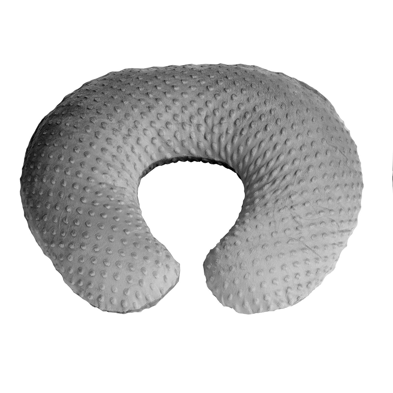 Made in USA BOP.13 Bubble Dot Minky Fabric Nursing Pillow Slipcover Breastfeeding Pillow Cover
