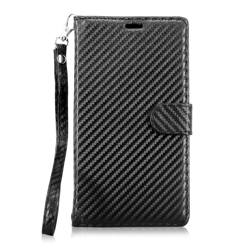 Cellularvilla Wallet Leather Pocket Carbon Image 3