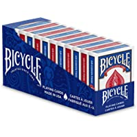 Bicycle Standard and Jumbo Playing Cards - Single Deck, 2 Pack, 4 Pack, 12 Pack - Poker, Rummy, Canasta, Pinochle…