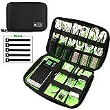 Philonext Accesorios electrónicos Bolsa de viaje Impermeable de nylon Multifuncional Organizador de cable de viaje Disco duro portátil Bolsa de almacenamiento digital