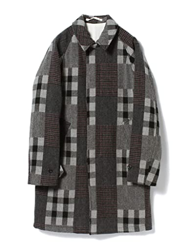 Jacquard Tweed Bal Collar Coat 11-19-0427-803