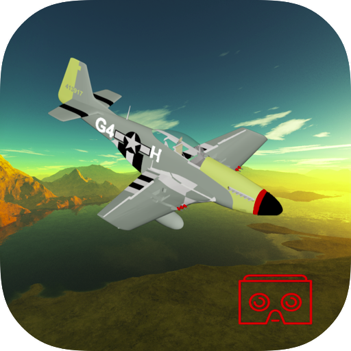 P 51 Mustang Aerial Virtual Reality Simulation Over The Pacific Islands