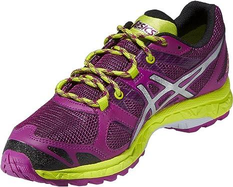 ASICS Zapatillas de Mujer Walking Gel_FUJISTORM GTX Gore-Tex Lila/Limette Talla:7 1/2: Amazon.es: Deportes y aire libre