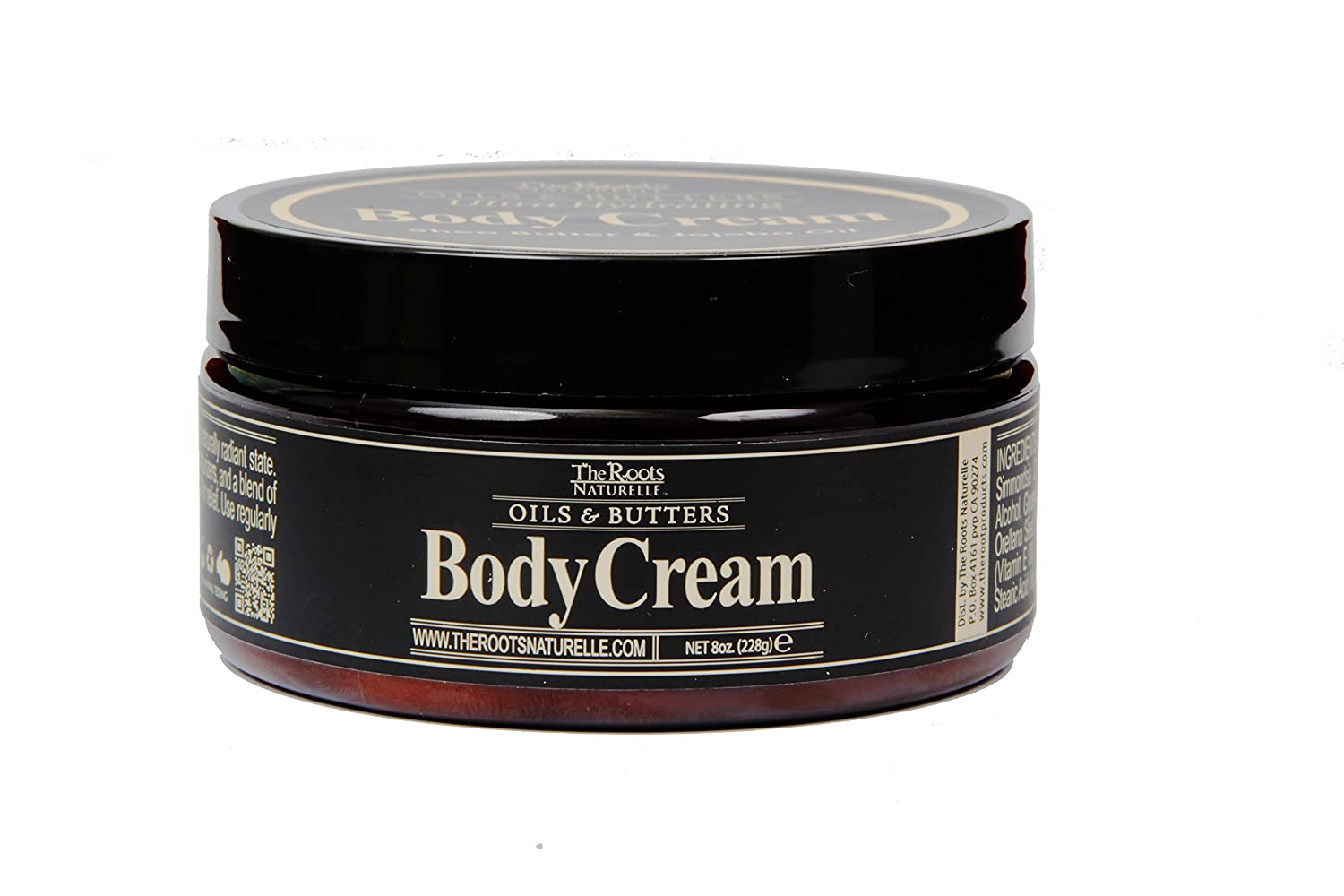 Body Cream Enriched with Natural Shea Butter, Jojoba Oil and Vitamin E. For All Skin Types Including Normal and Dry Skin. Soft Smooth Skin for up to 24 Hours. Use Daily on Body Elbows Knees Heels