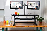 "Rocelco 37"" Height Adjustable Standing Desk"