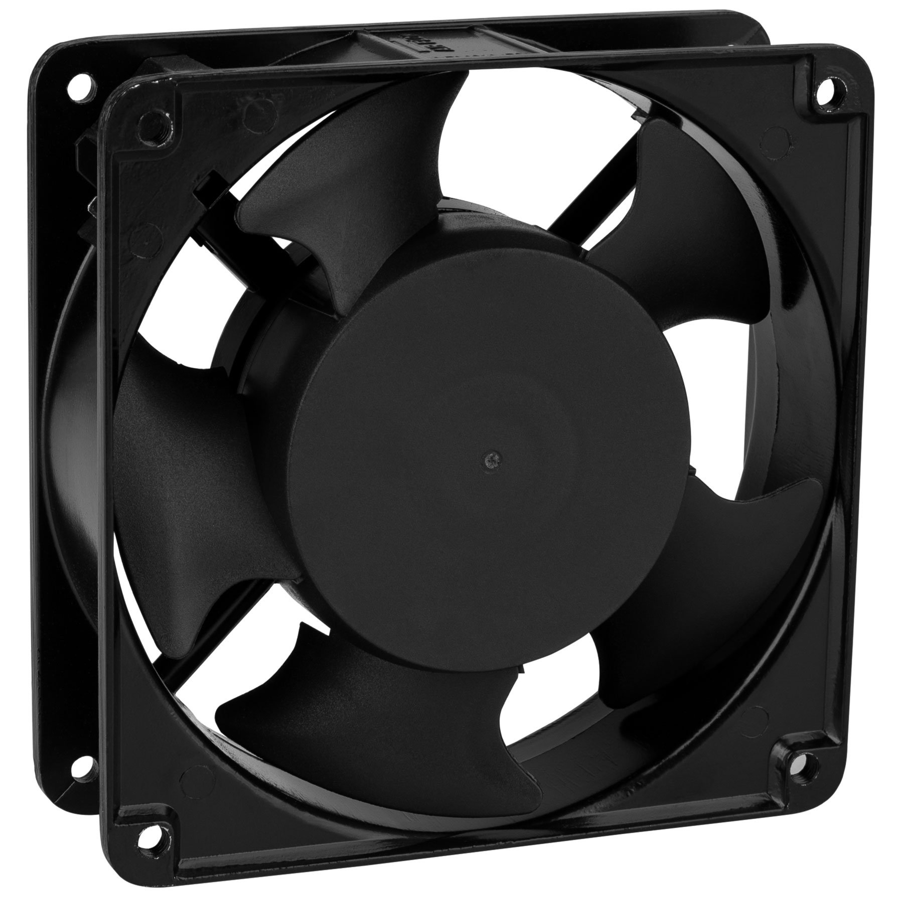 Parts Express Muffin Style Axial Cooling Fan 120 VAC 120 x 120 x 38mm 100 CFM by Parts Express (Image #2)
