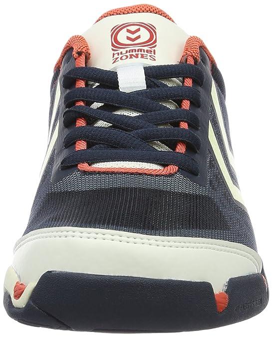 Hummel Celestial X6, Zapatillas Deportivas para Interior Unisex Adulto, Azul (Total Eclipse), 37.5 EU