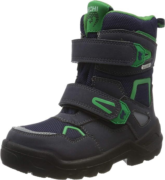 Lurchi Boys' Kaspar-Sympatex Snow Boots, (Atlantic Green 39), 13.5 UK,Lurchi,3331032