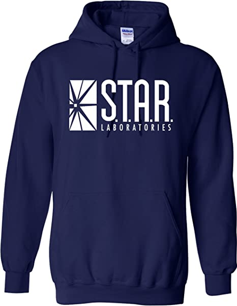 Sudadera con capucha inspirada en STAR Laboratories - Sudadera con capucha de S.T.A.R. Labs de la serie de TV The Flash: Amazon.es: Ropa y accesorios