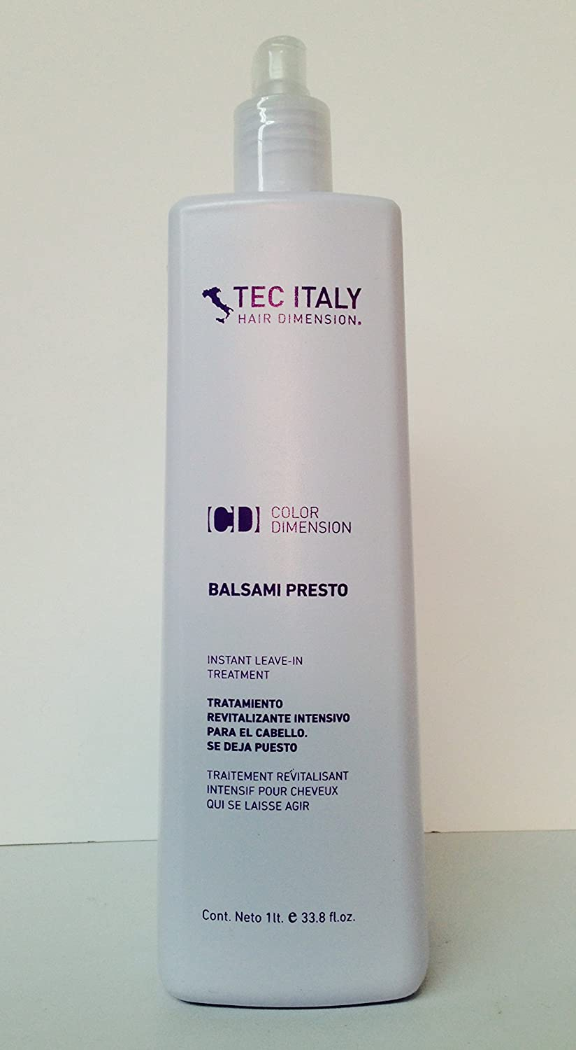 Color art by tec italy - Amazon Com Tec Italy Color Balsami Presto Instant Leave In Treatment 33 8 Oz Beauty