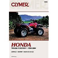 Honda TRX450 Foreman Series ATV (1998-2004) Service Repair Manual