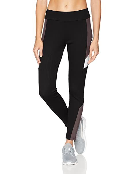 PUMA Womens Retro Rib Leggings