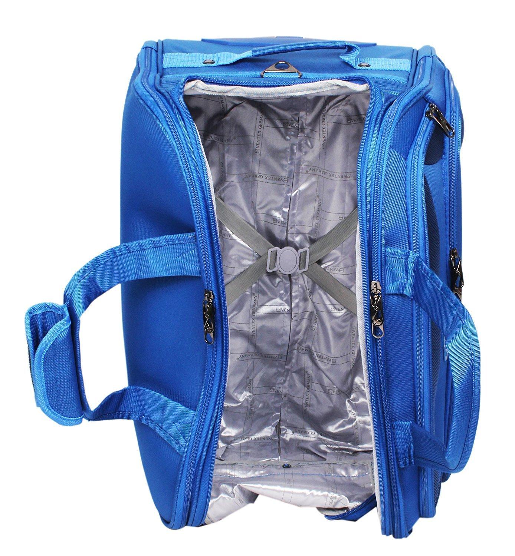 8d03ca3185db vintex germany Nylon Polyester Trolley Bag (Blue)  Amazon.in  Bags ...