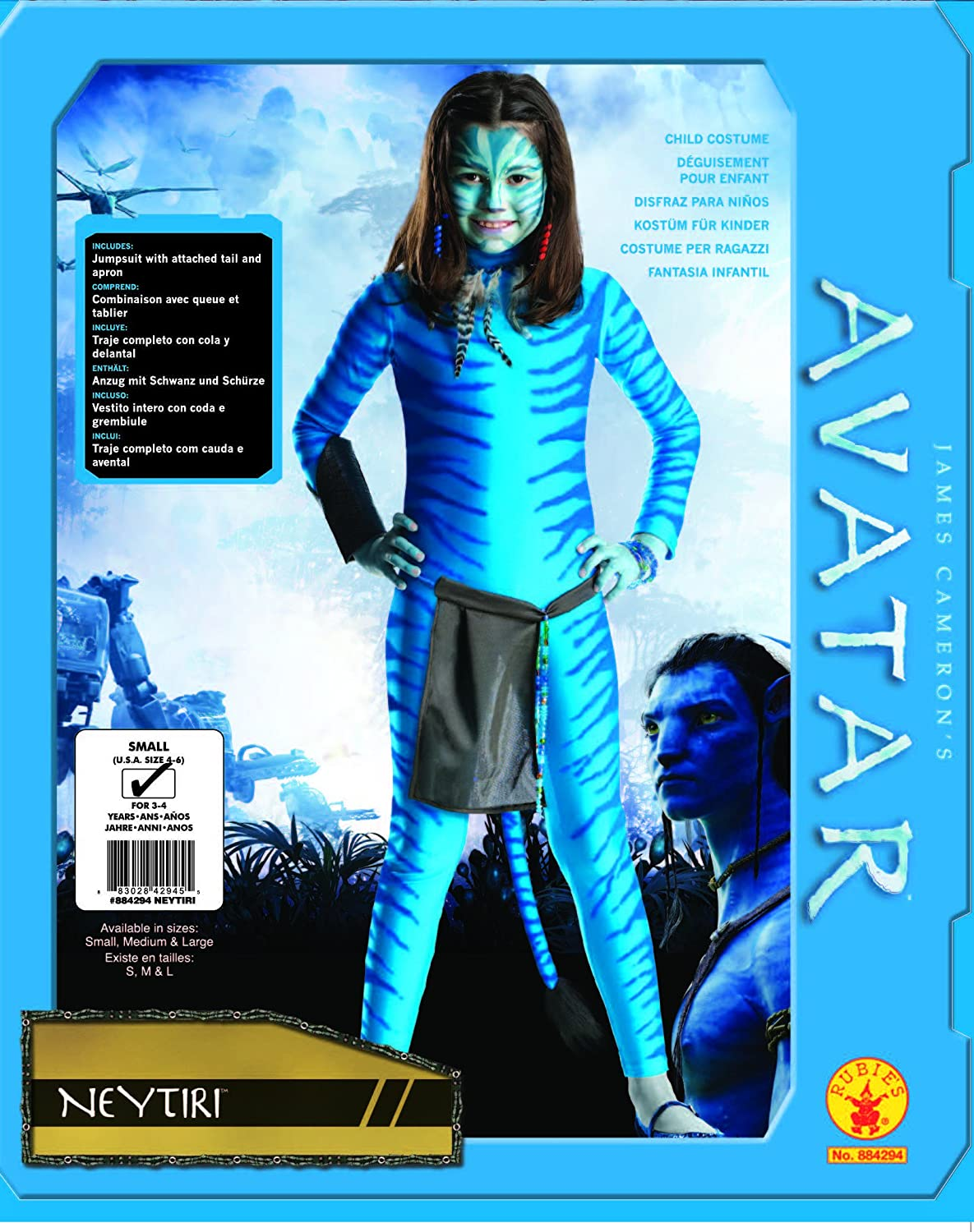 Avatar Childs Costume, Neytiri, Large