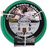 Dramm 17004 ColorStorm Premium 50-Foot-by-5/8-Inch Rubber Garden Hose, Green