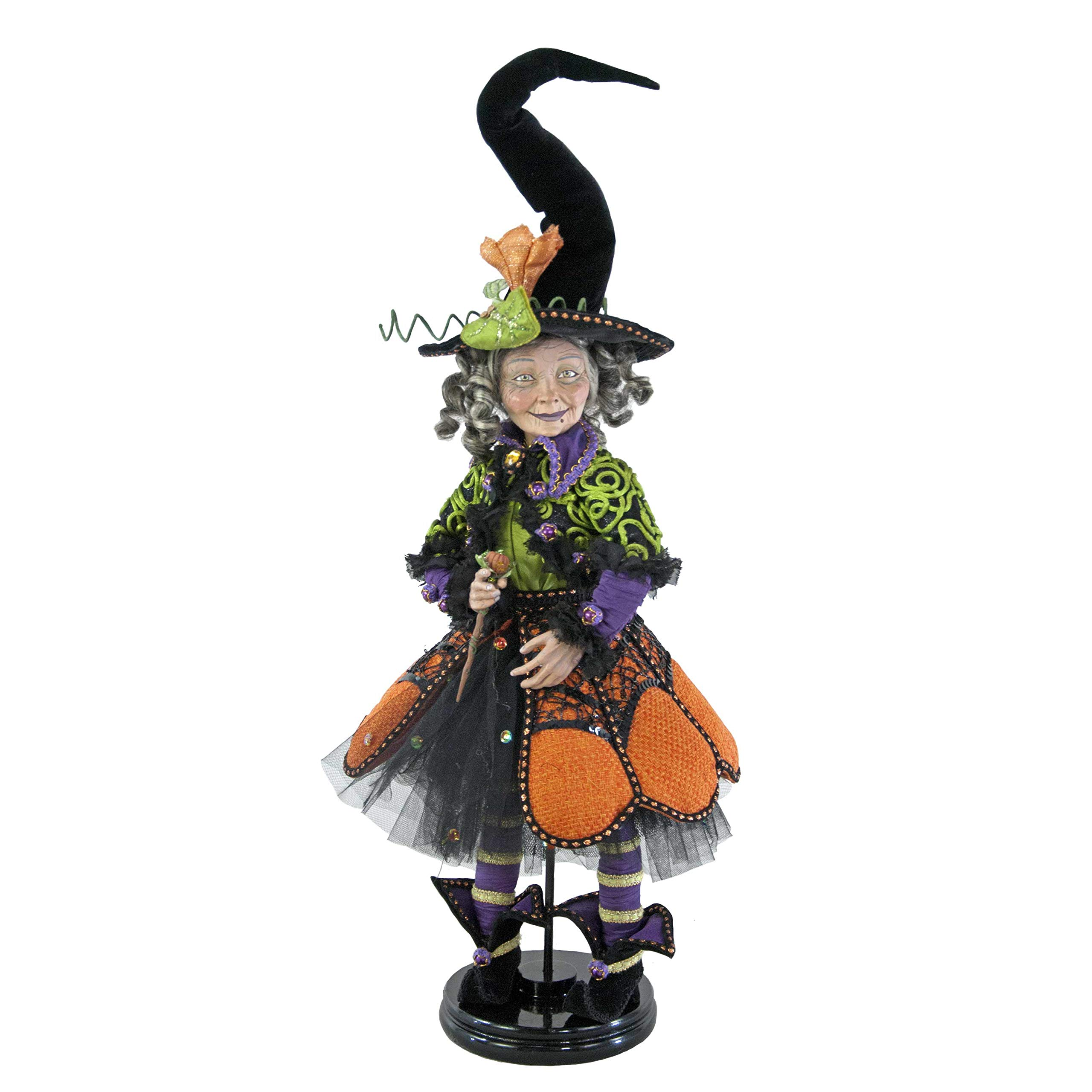 Katherine's Collection Pumpkin patch witch doll Halloween 18''