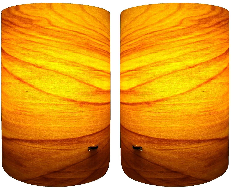 Echtholz Lampenschirm E14 Birke by DiegelDesign